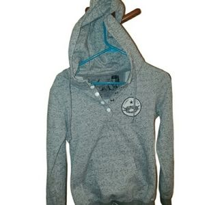 Camp Sitka Grey Pullover Hoodie